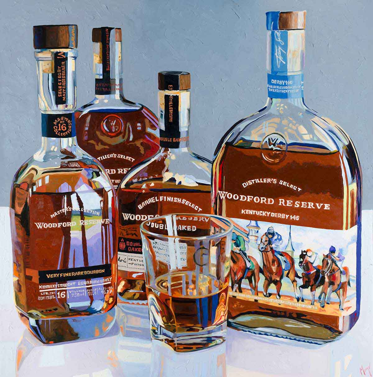 Woodford Reserve Selections Painting